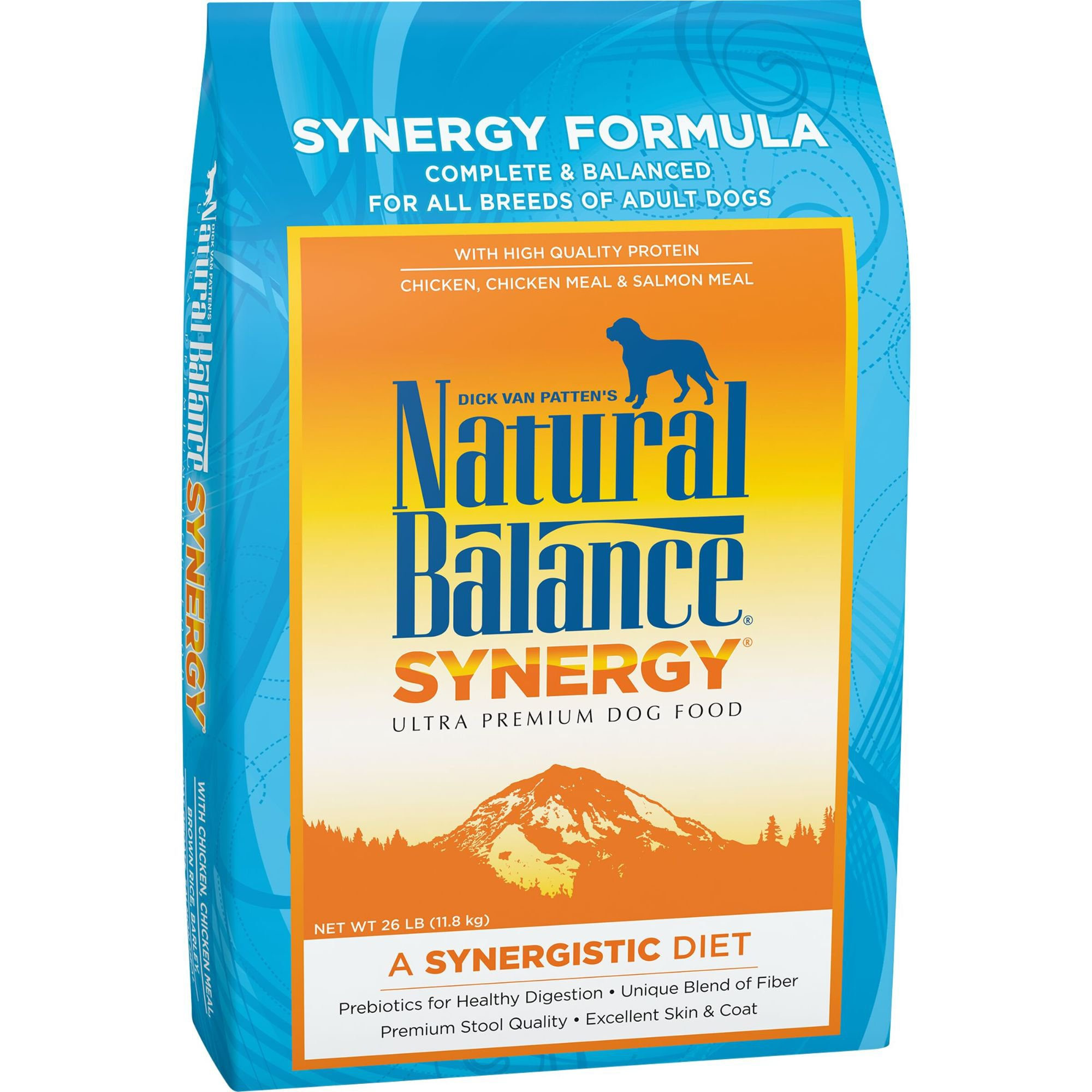 Natural Balance Synergy Ultra Premium Dry Dog Food 26 lbs.