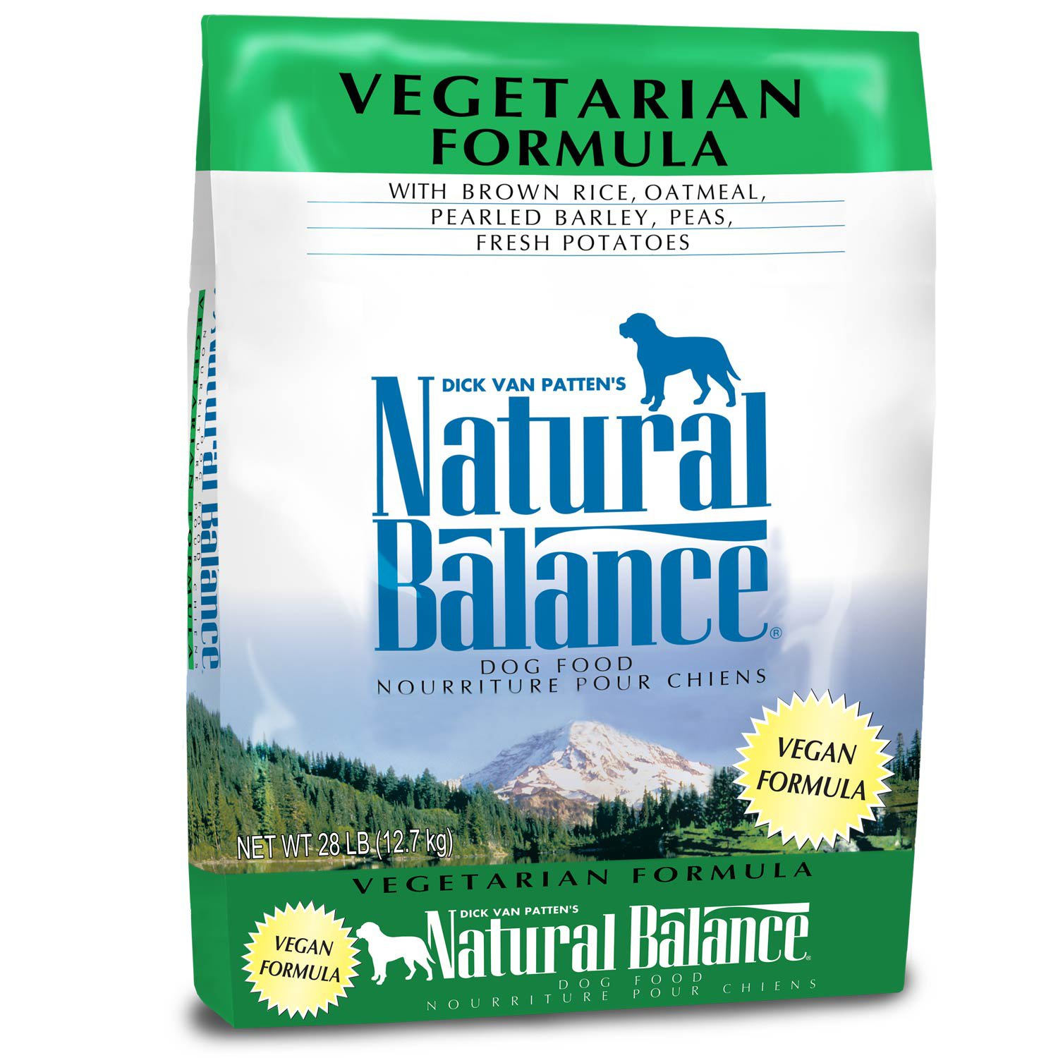 Natural Balance Vegetarian Formula Dog Food 28 lbs.