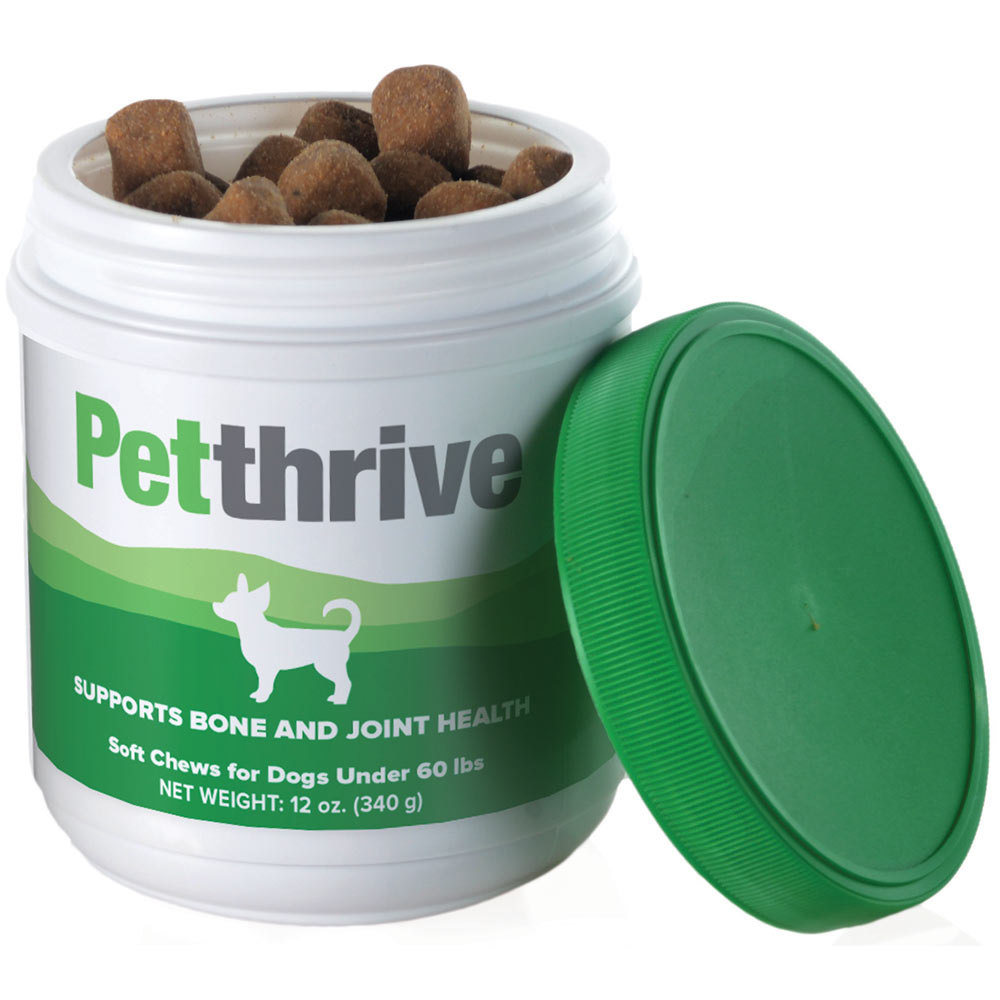 Petthrive Soft Chews for Under 60 lbs Dogs (12 oz)