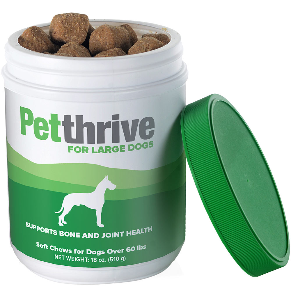 Petthrive Soft Chews for Large Dogs Over 60 lbs (18 oz)