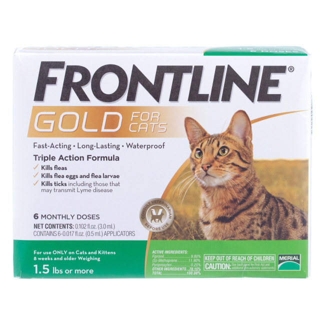 Frontline Gold Cats, 6 pk