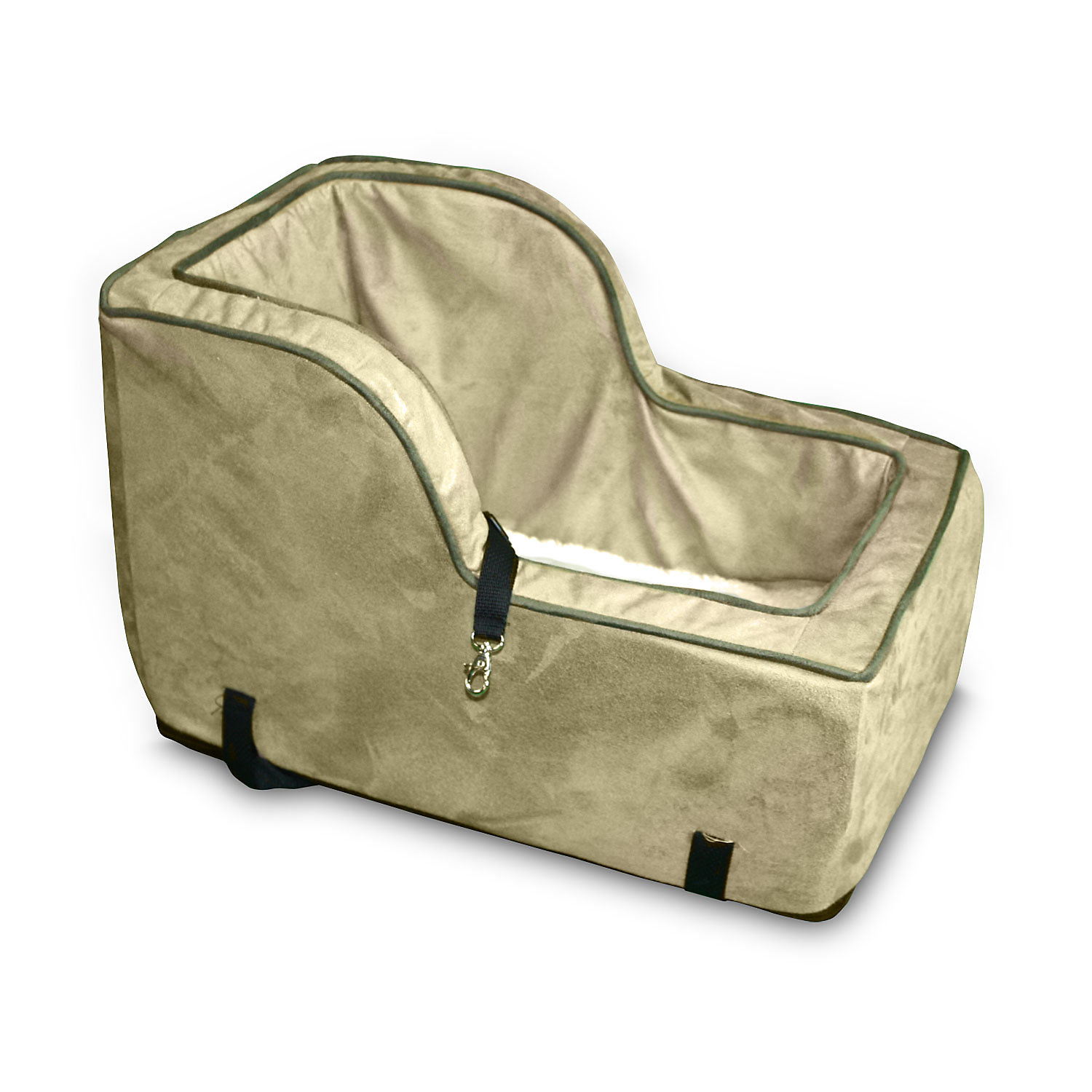 Snoozer Luxury HighBack Console in Camel Large Brown