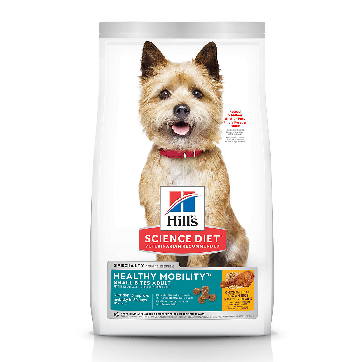 Hills Science Diet Healthy Mobility Small Bites Adult Dog Food 30 lbs.