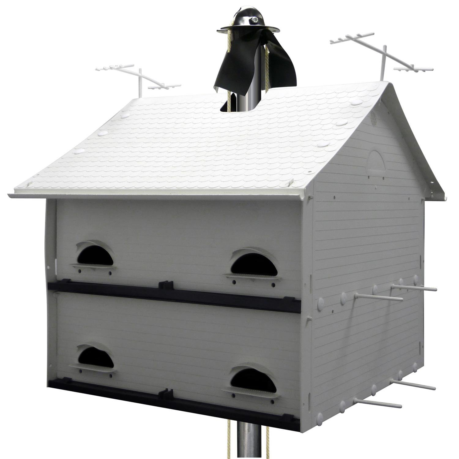 SK Manufacturing Heavenly Haven Purple Martin House 20 L X 19.75 W X 21.5 H Standard White