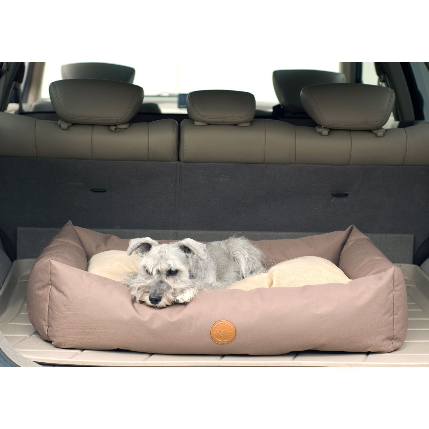 KH Tan Travel  SUV Dog Bed 48 L x 30 W Large
