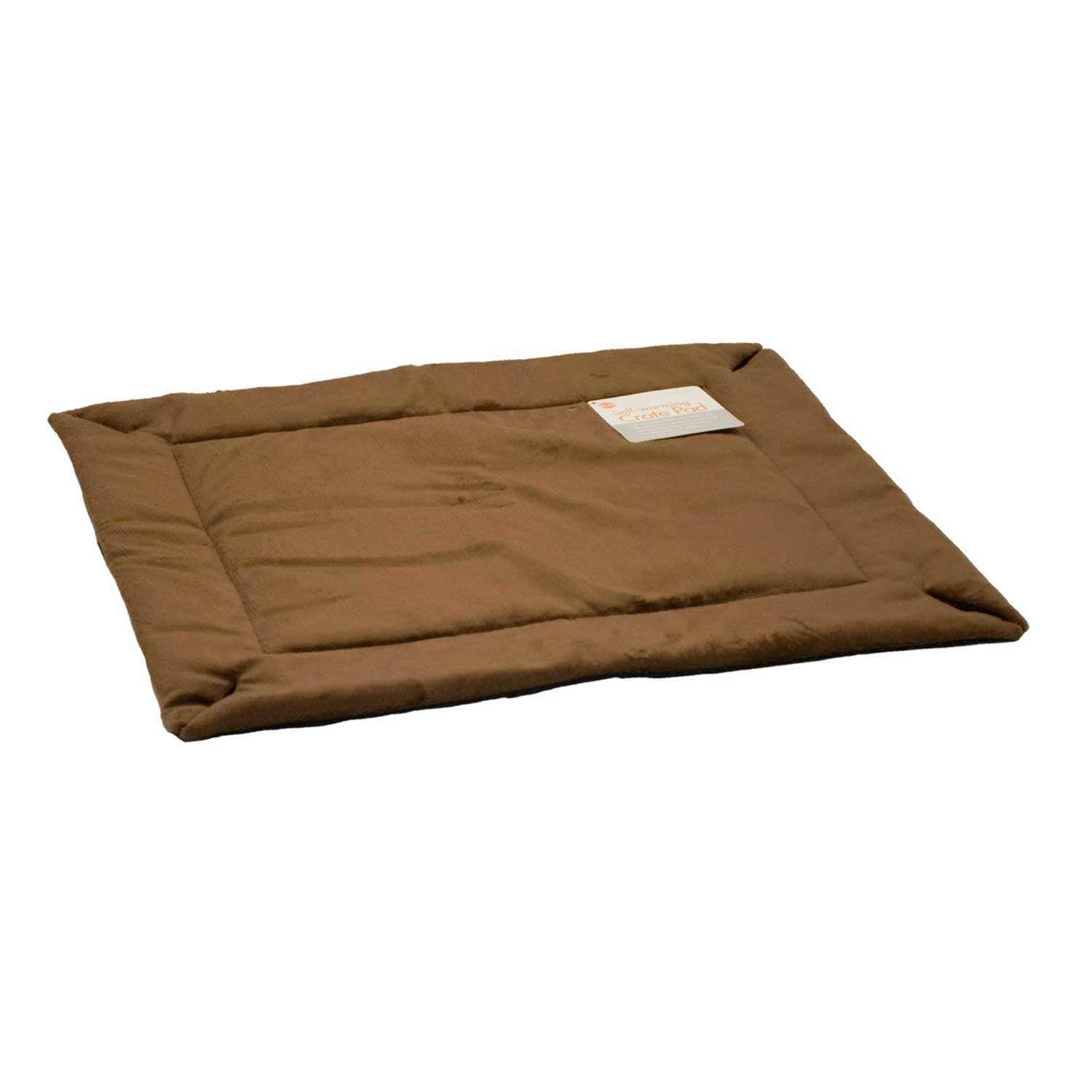 KH Mocha Self Warming Crate Pad 37 L X 25 W X 1 H Large Brown