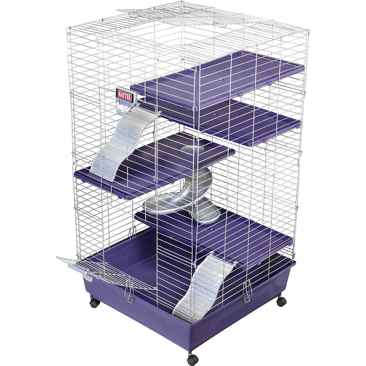 Kaytee Ferret Home Plus 24 L X 24 W X 41.5 H 24 IN Purple