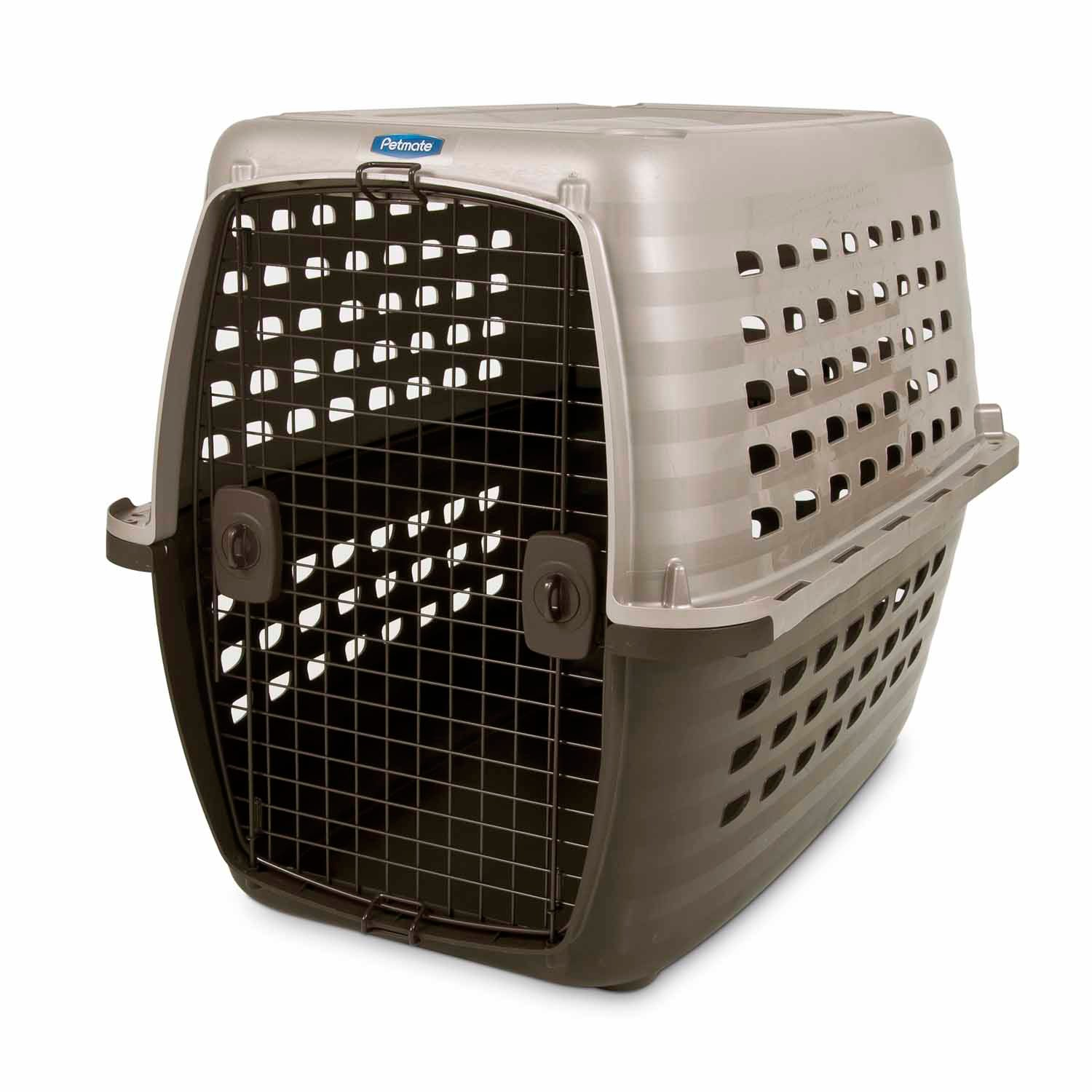 Petmate Navigator Pet Kennel 40 L X 26 W X 30 H Large Tan  Brown
