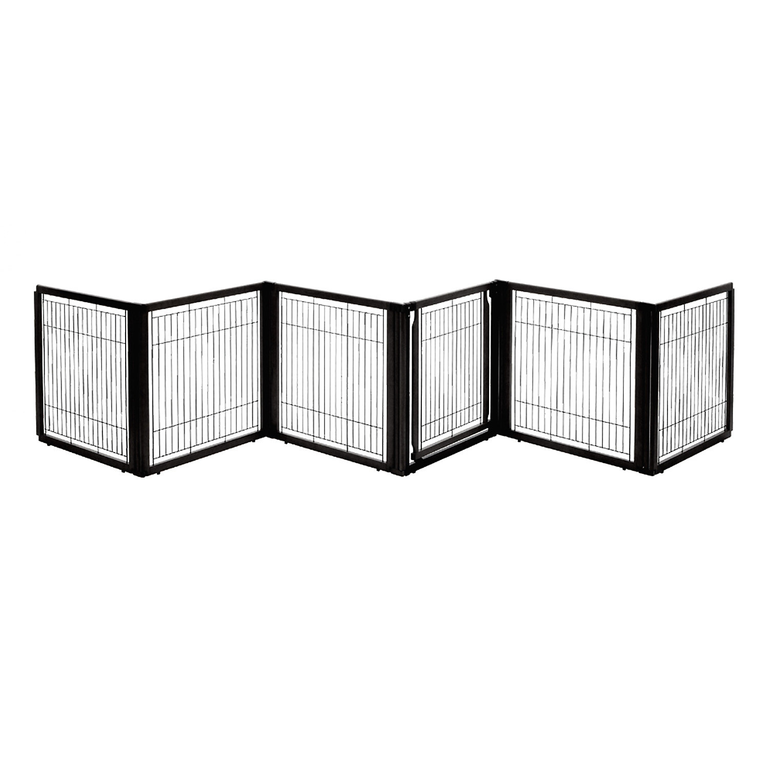 Richell Convertible Elite Six Panel Pet Gate