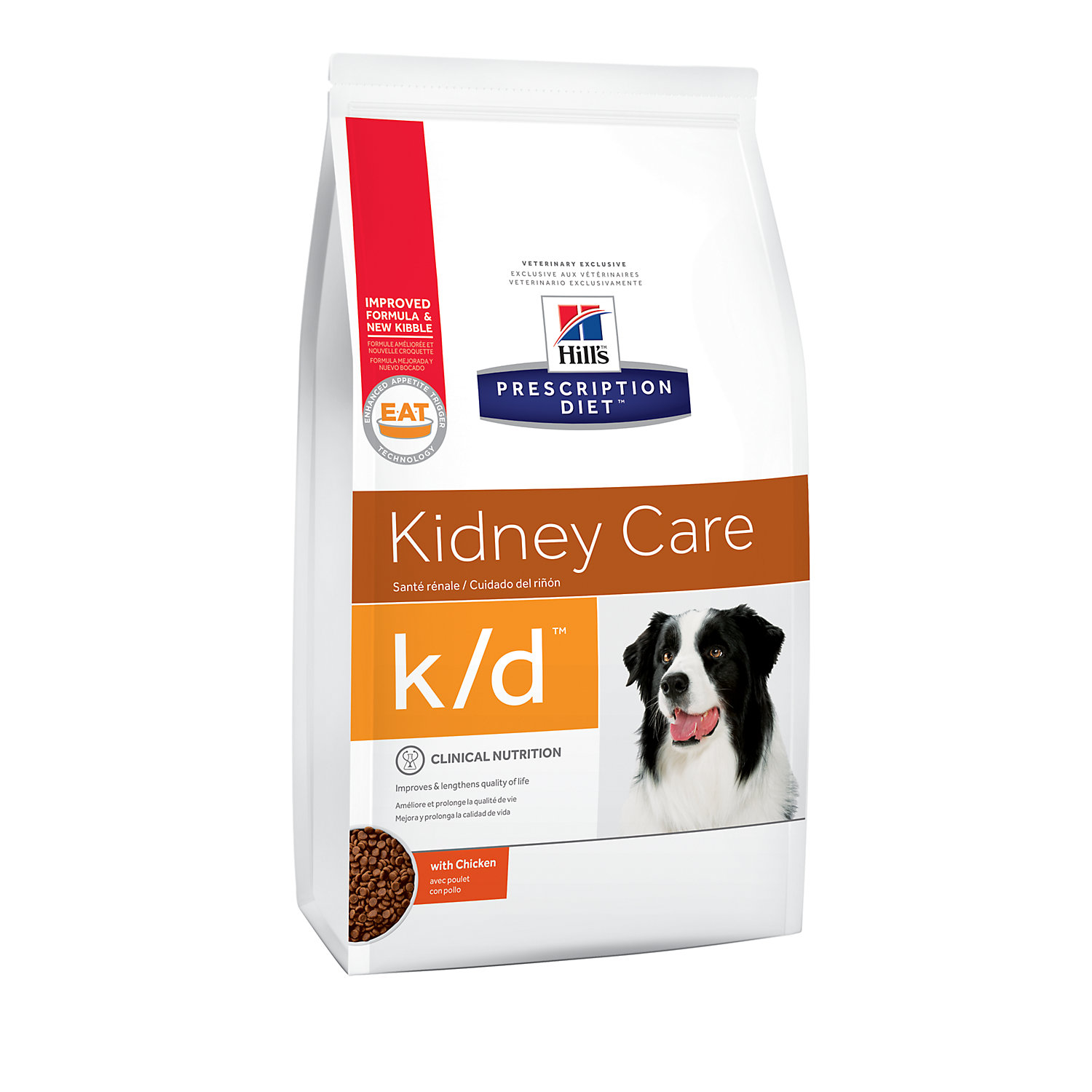 Hills Prescription Diet kd Kidney Care with Chicken Dry Dog Food 17.6 lbs. Bag