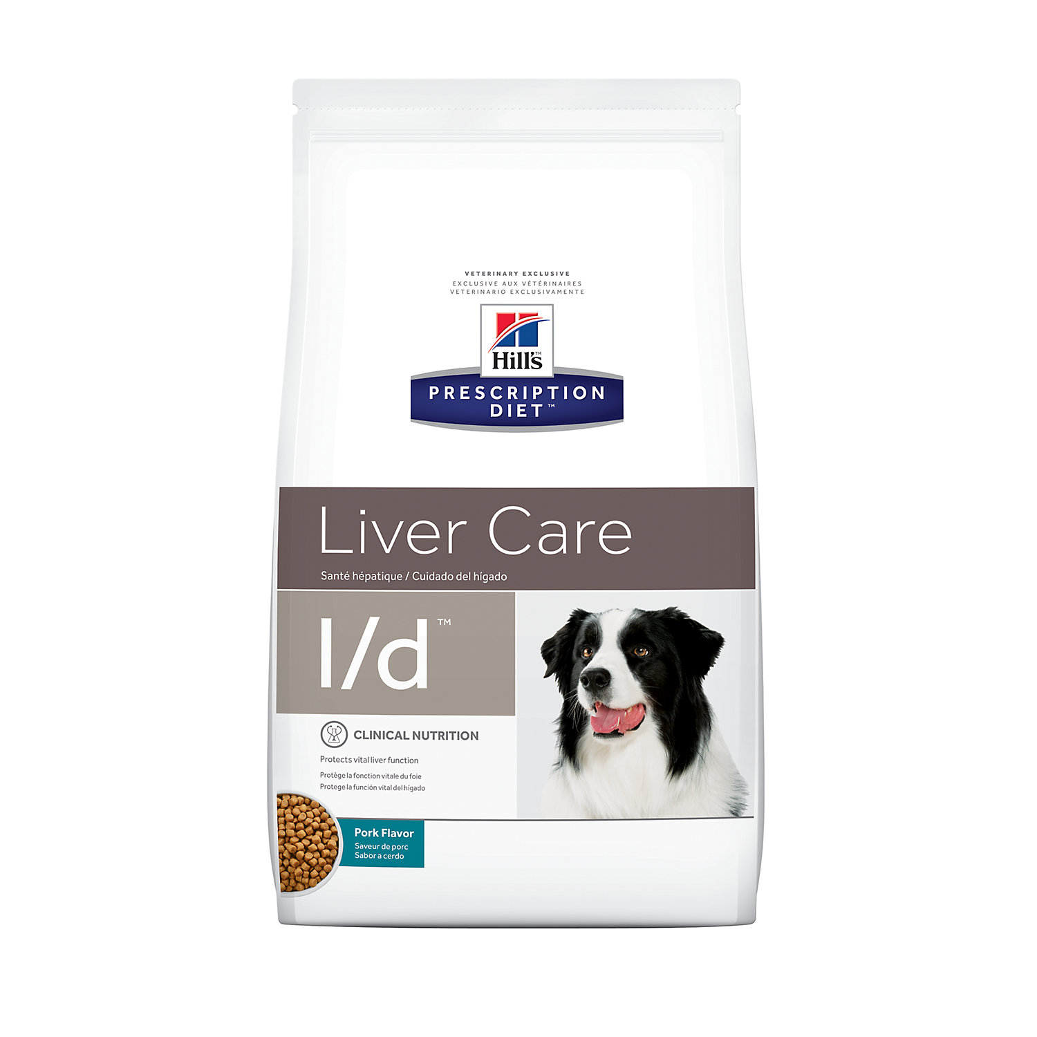 Hills Prescription Diet ld Liver Care Pork Flavor Dry Dog Food