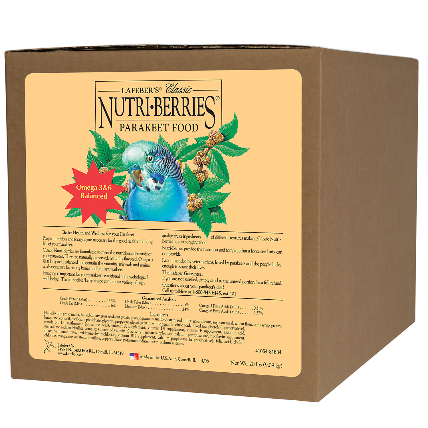 Lafebers Keet NutriBerries