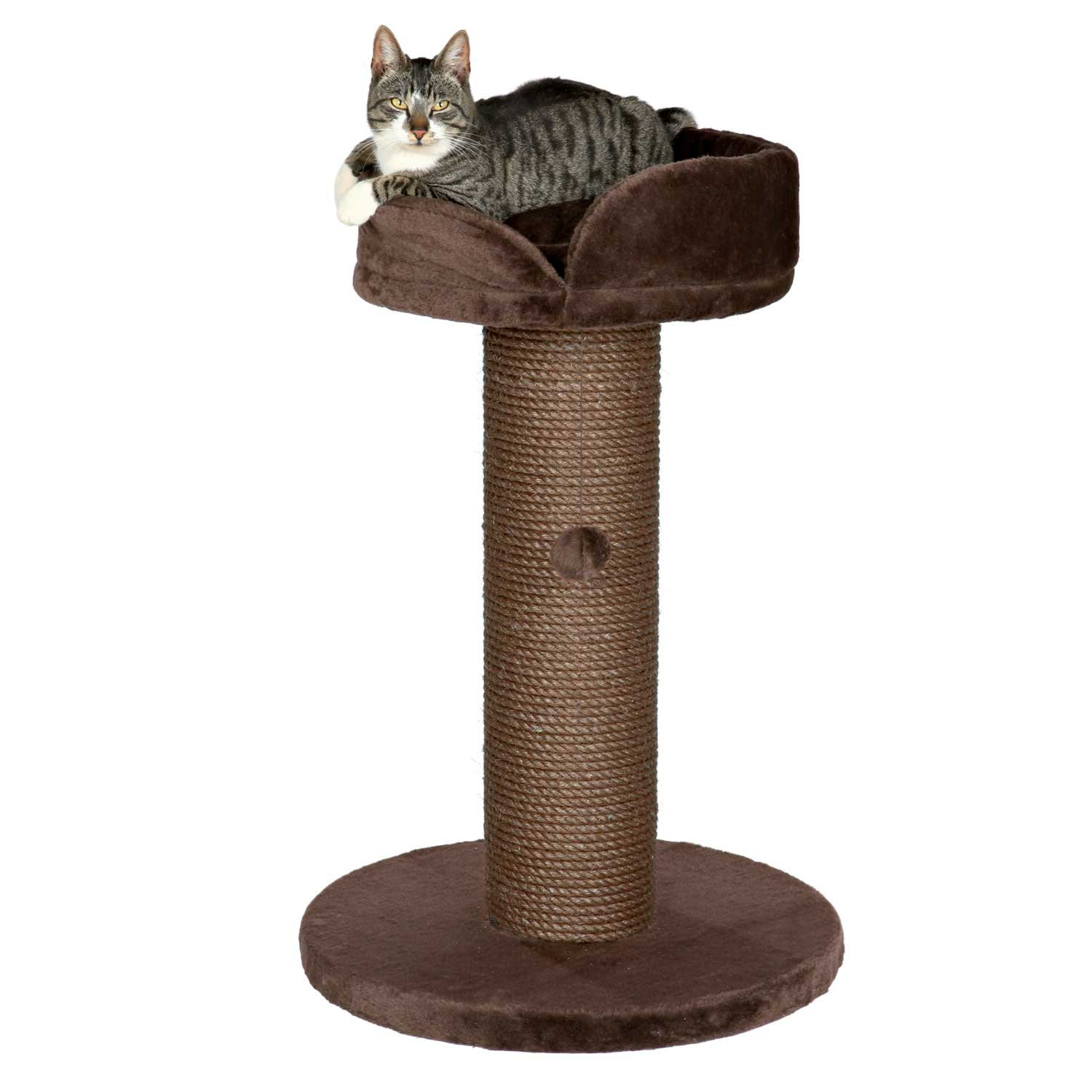 Trixie Pepino Scratching Post in Chocolate Brown 35 22.75 IN