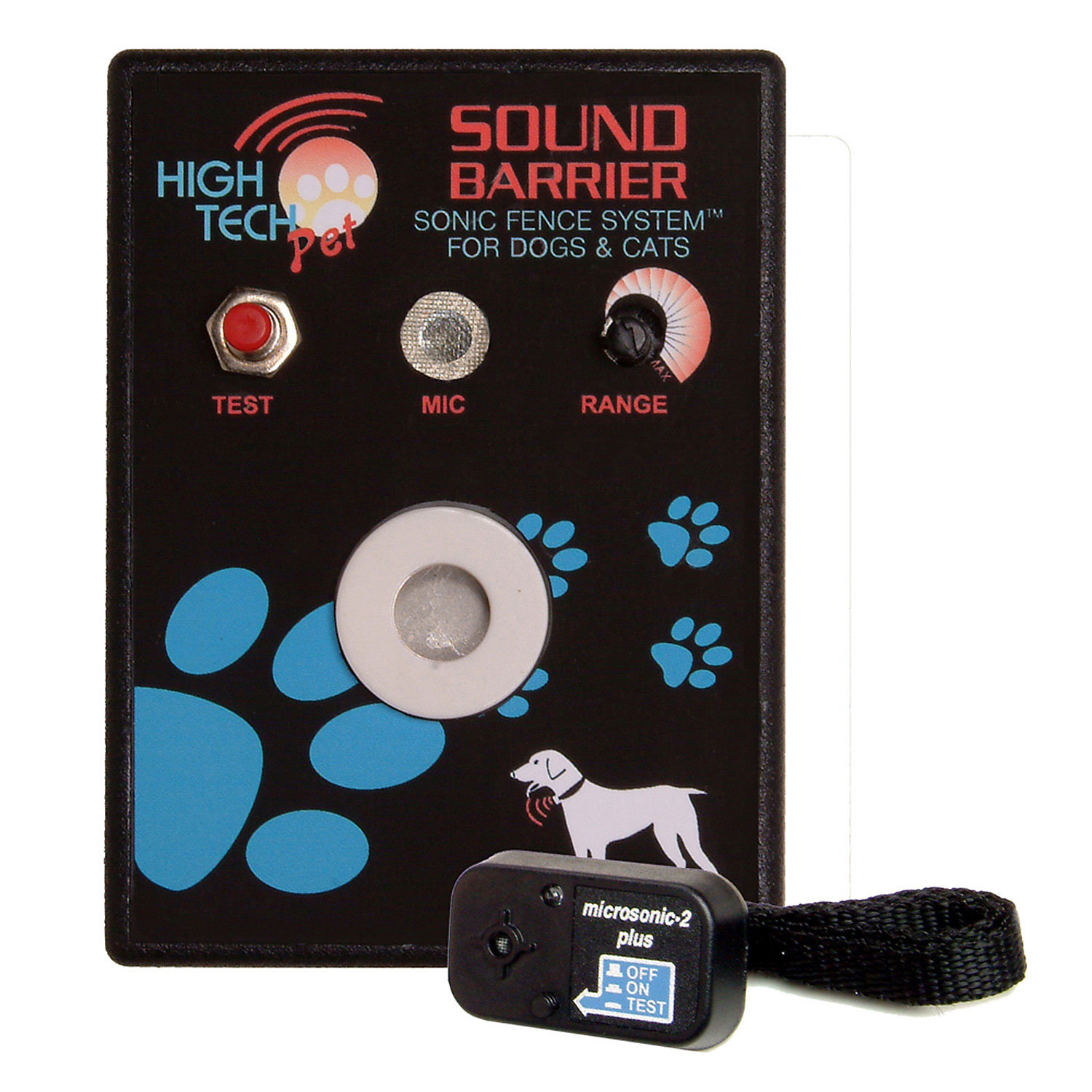 High Tech Pet Sound Barrier Indoor Pet Barrier