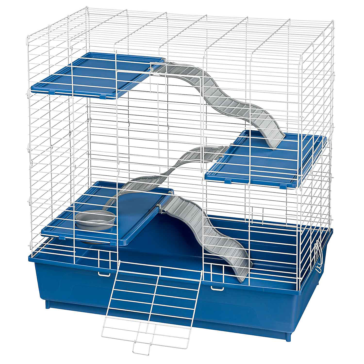 Kaytee Multi Level Ferret Home 30.5L X 18W X 30.5H 30.5 IN Blue