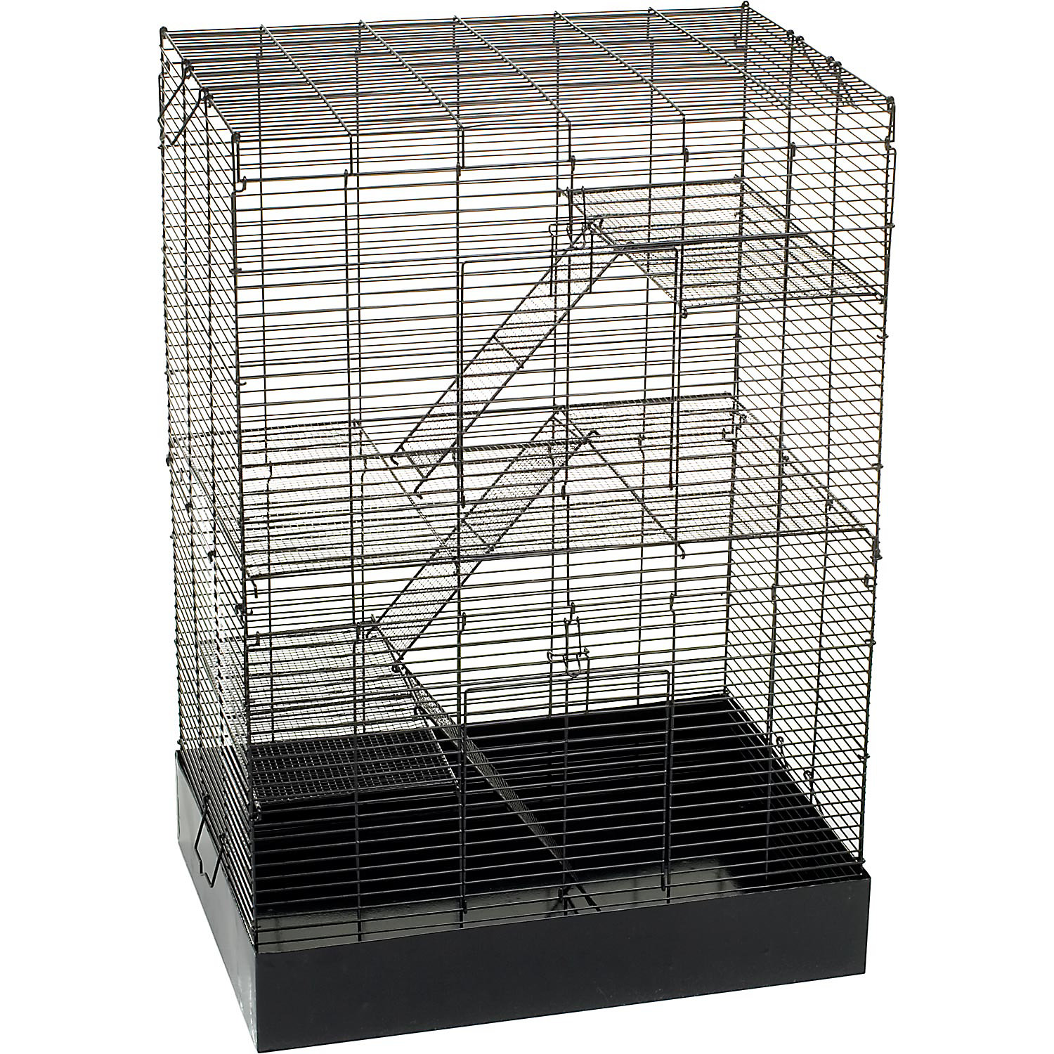 You  Me Rat Manor Habitat 16.5 L X 22.5 W X 32 H 16.5 IN Black