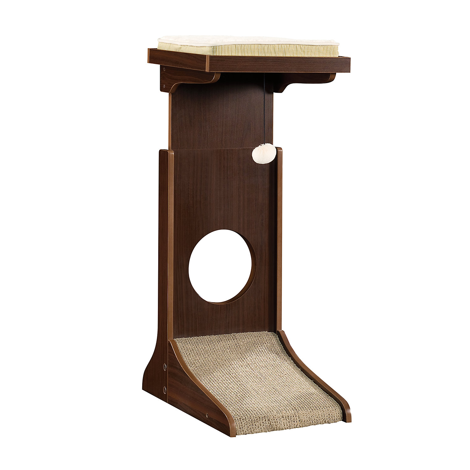 Sauder Adjustable Height Cat Tower 36.3H 25 LB