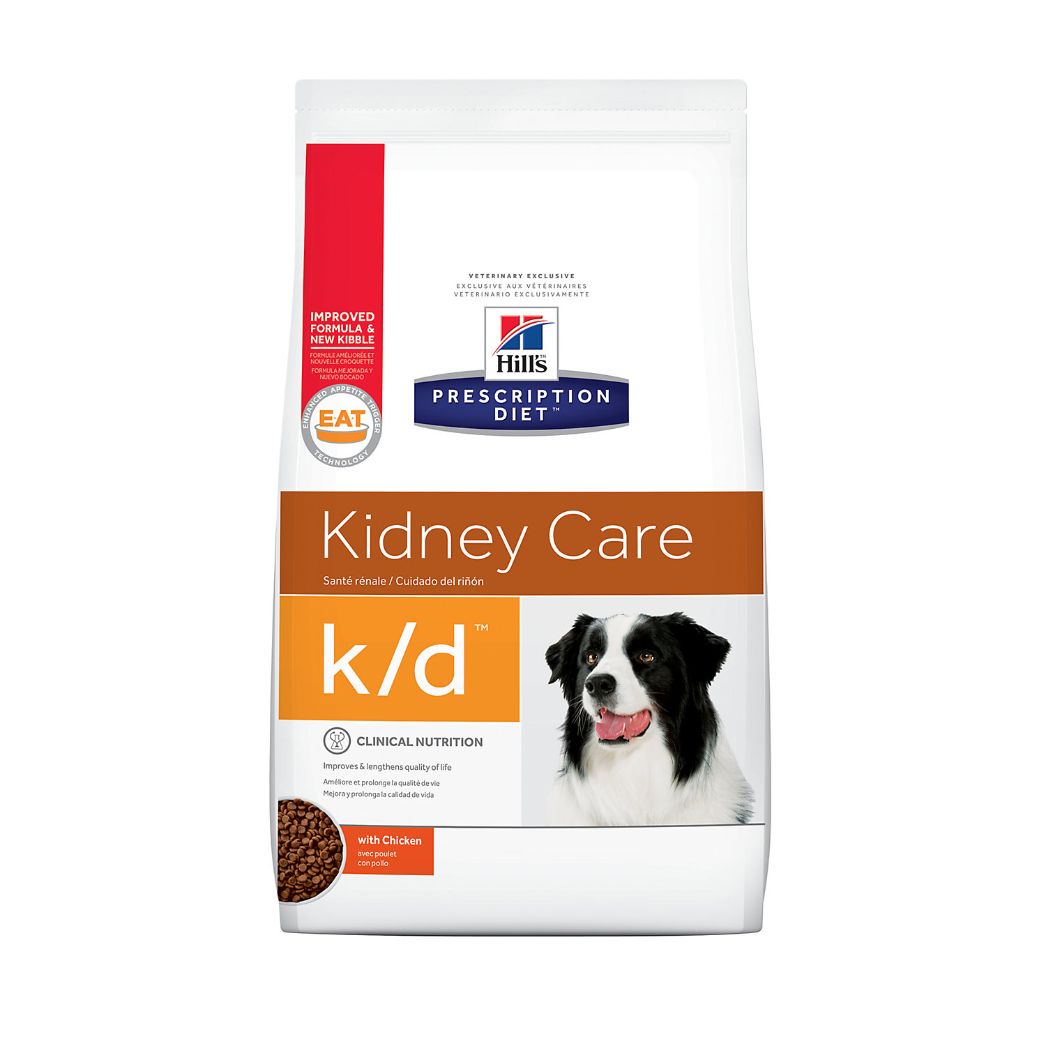 Hills Prescription Diet kd Kidney Care with Chicken Dry Dog Food 27.5 lbs. Bag