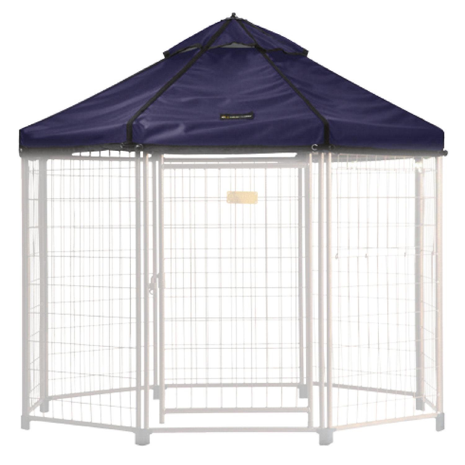 Advantek Select Pet Gazebo Lifestyle Cover Blue Medium