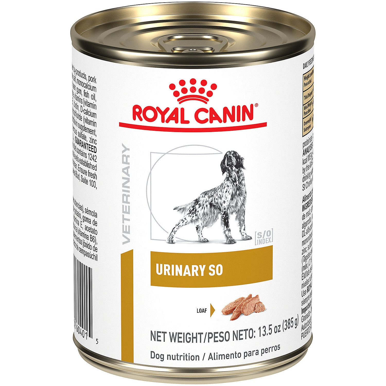 Royal Canin Veterinary Diet Canine Urinary SO In Gel Wet Dog Food