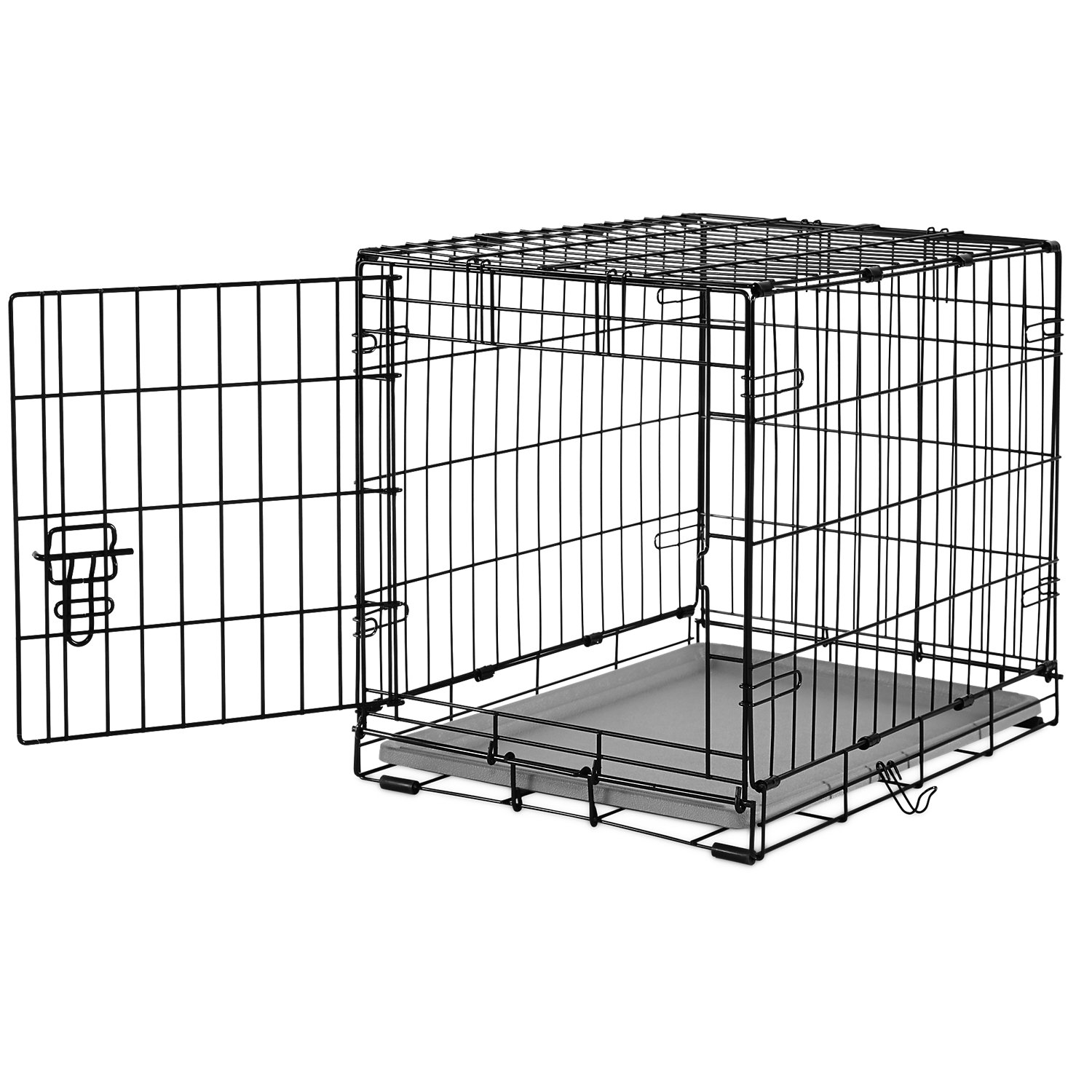 You  Me 1Door Folding Dog Crate 24 L x 17 W x 19 H Small