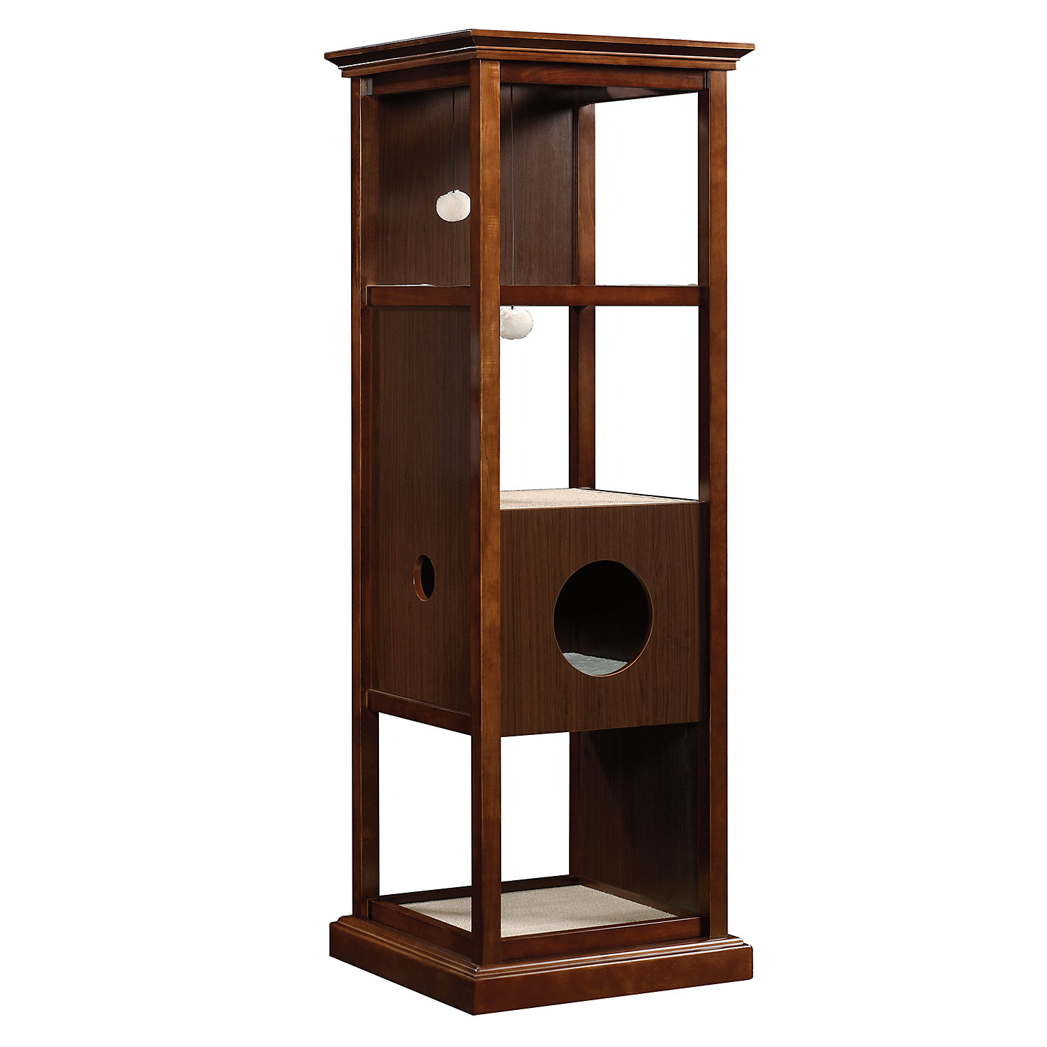 Sauder Traditional Cat Tower 65.25H 89 LB