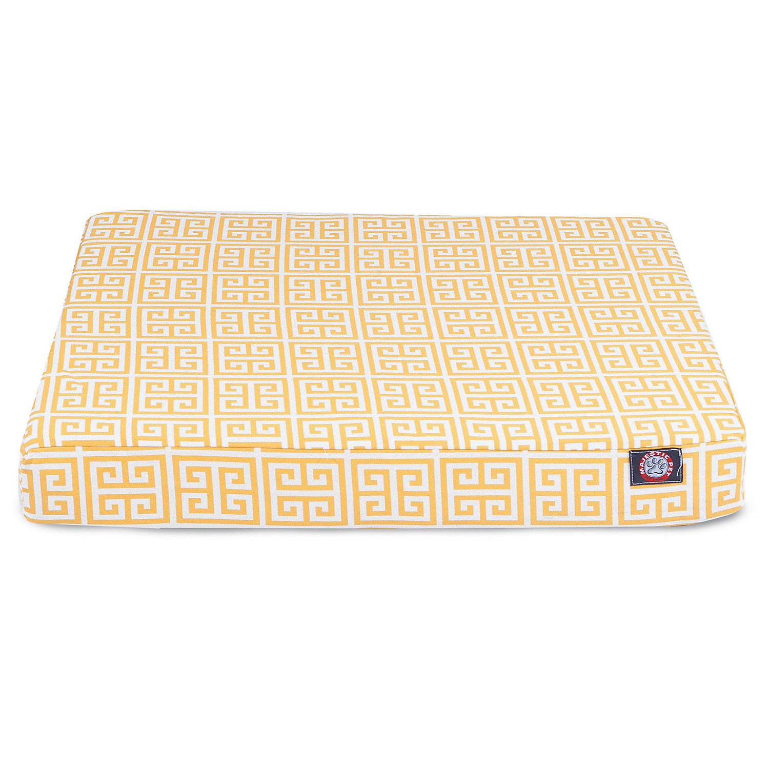 Majestic Pet Citrus Towers Orthopedic Memory Foam Rectangle Dog Bed